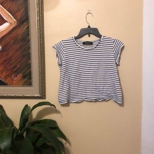 Reformation cropped tee